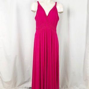 Zen Knits Grecian maxi dress XL NEW!